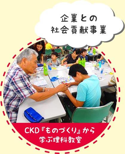 活動事例 CKD『ものづくり』から学ぶ理科教室